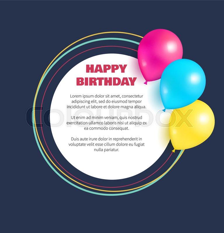 happy birthday congratulations in