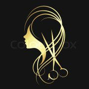 hair salon scissors beauty