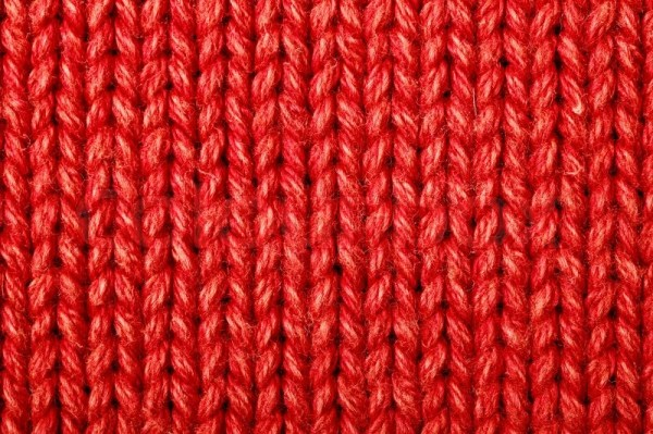 Red woolen texture Stock Photo Colourbox