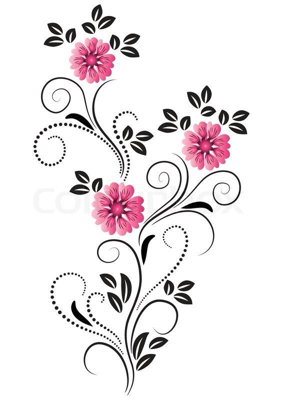 Decorative ornament  Vektorgrafik  Colourbox