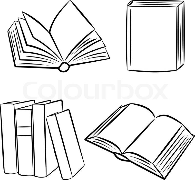 Book Clipart Open Book