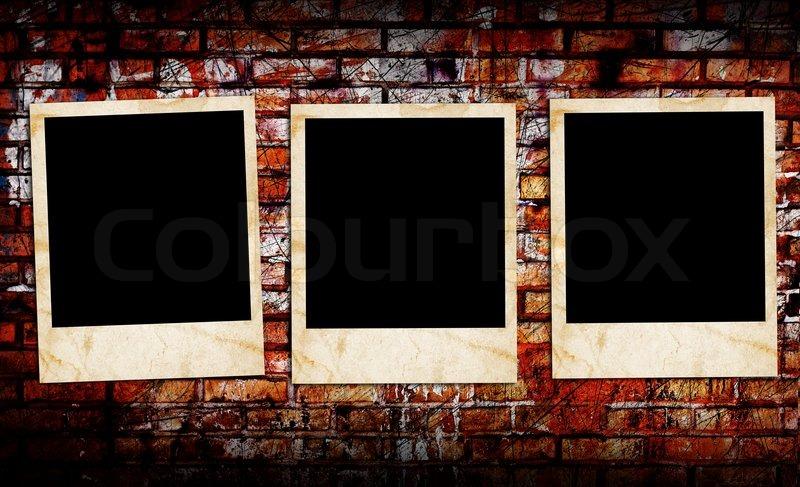 Blank Photo Frames Stock Photo Colourbox