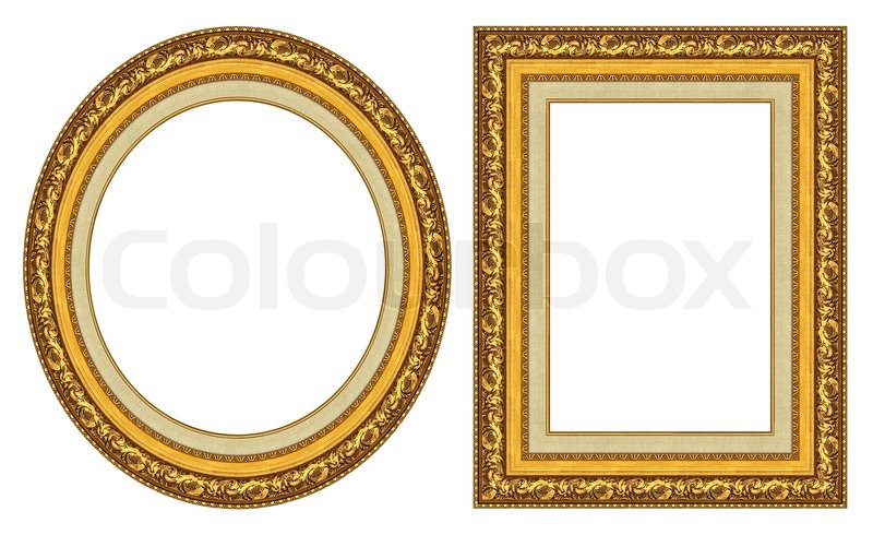 Wall Art Gold Frame