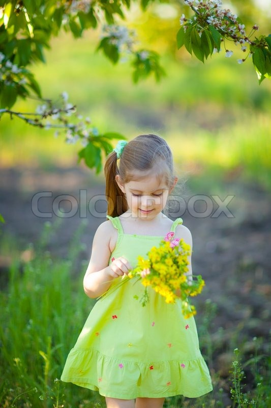 cute little girl with