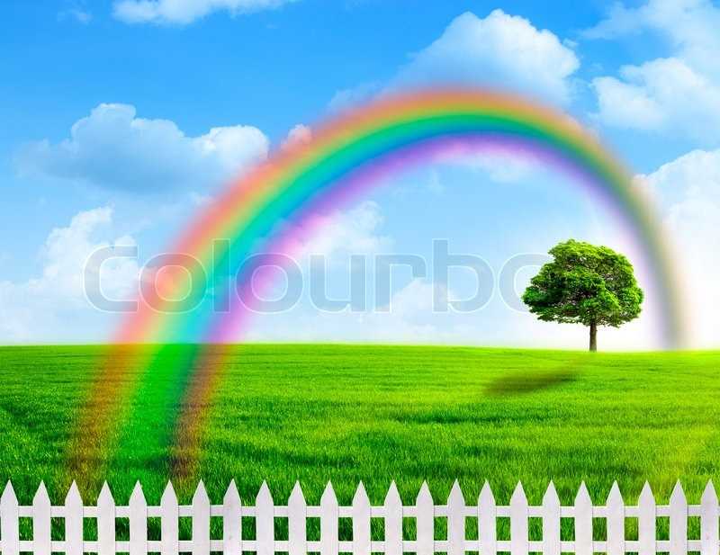 rainbow abstract natural backgrounds
