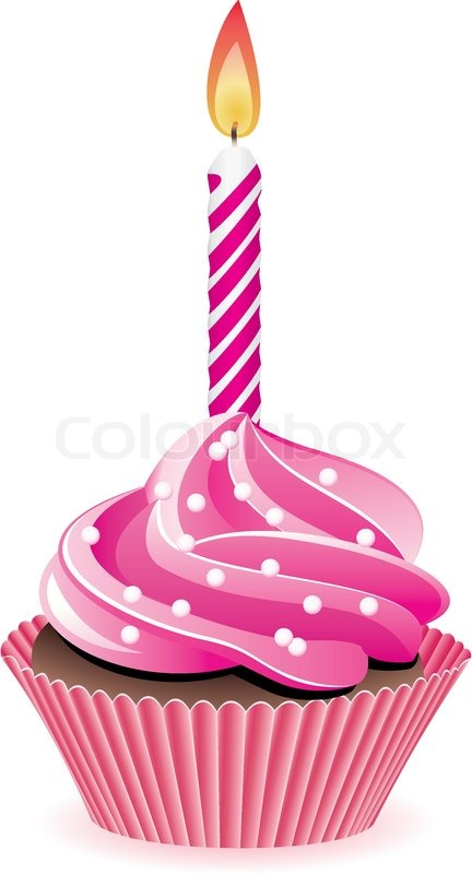 Girl Cake Clip Art