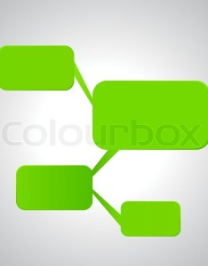 Illustration of empty flow chart diagram on gray white background stock vector colourbox also rh