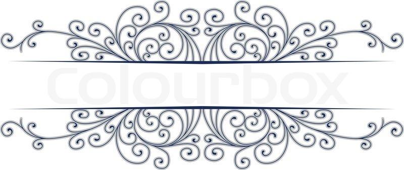 stylish design vector border