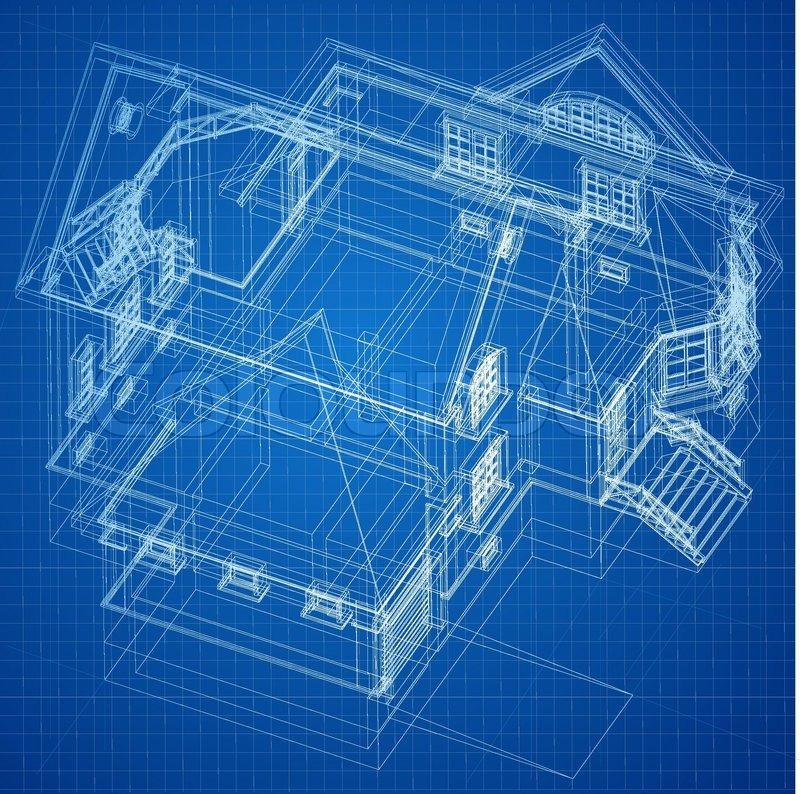 House Structure Blueprint