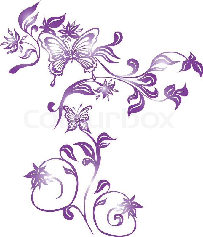 Sommer illustrationen dekoration  Vektorgrafik  Colourbox