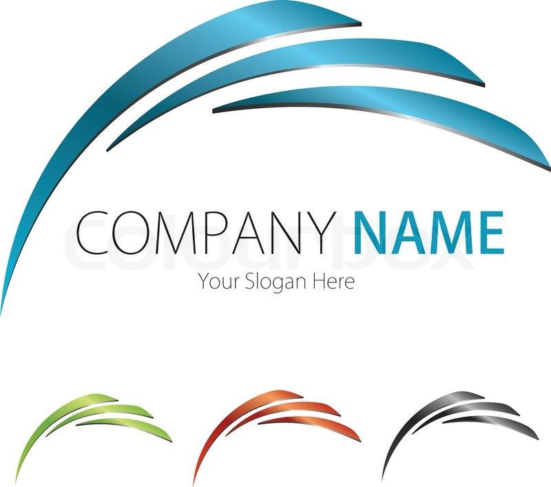 Company Business Logo Design   Stock vector  Colourbox