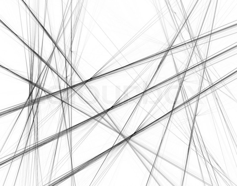 abstract lines forming tunner shape background