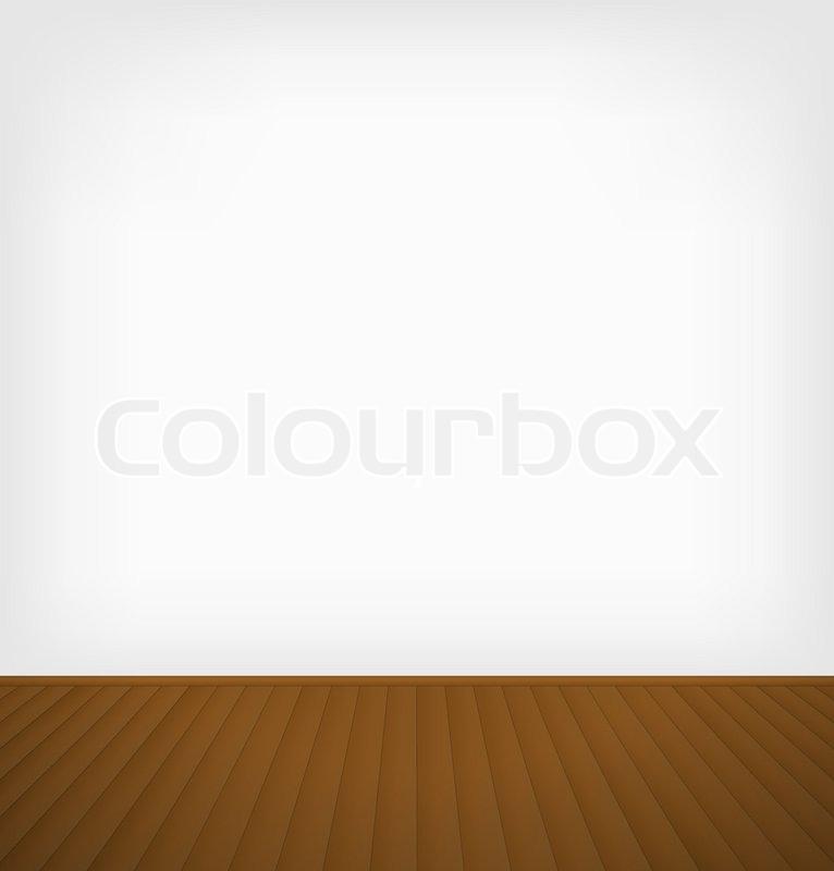 Baby Girl Bedroom Wallpaper Empty Room Stock Vector Colourbox