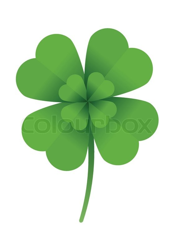 Luck Leaf Clover Good 4