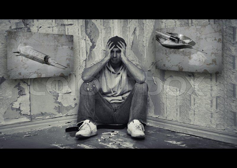 White And Depression Male Black