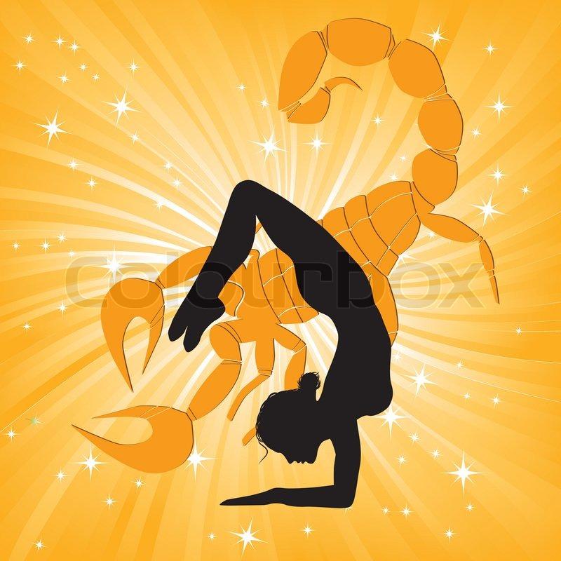 Meditation Girl Wallpaper Woman In Yoga Scorpio Asana Sport On Wave Background Girl