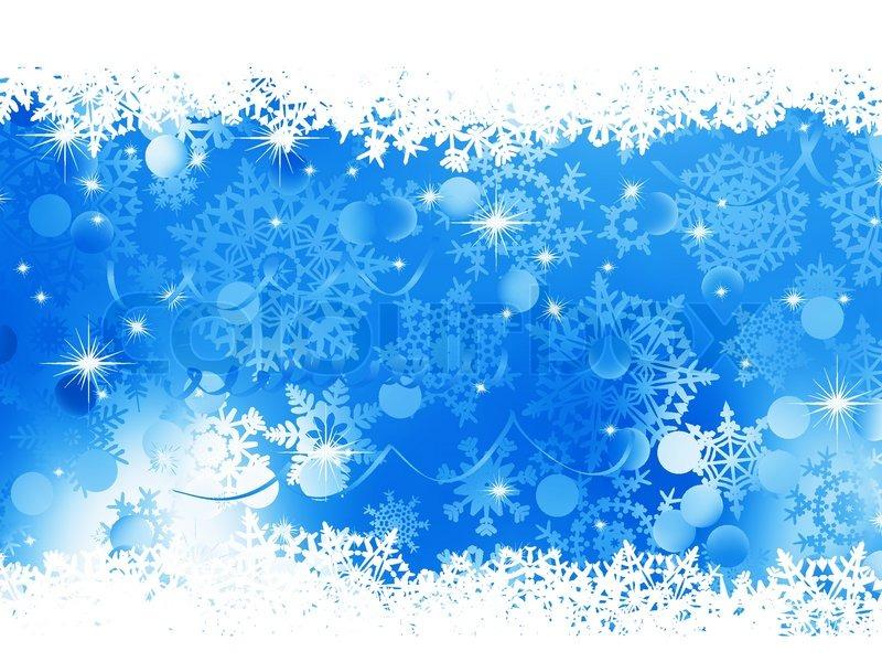 Blue Christmas Background EPS 8 Stock Vector Colourbox