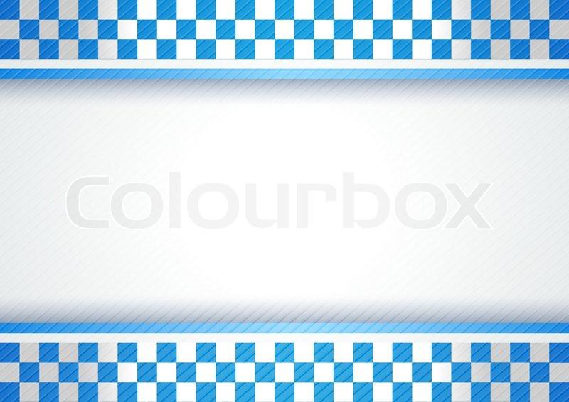 Police Background Stock Vector Colourbox