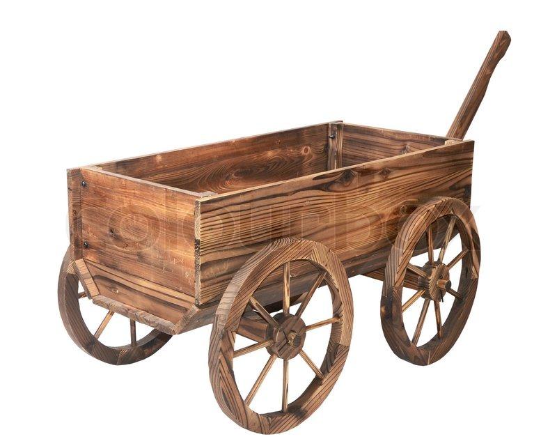 Use Wood Old Tool Box