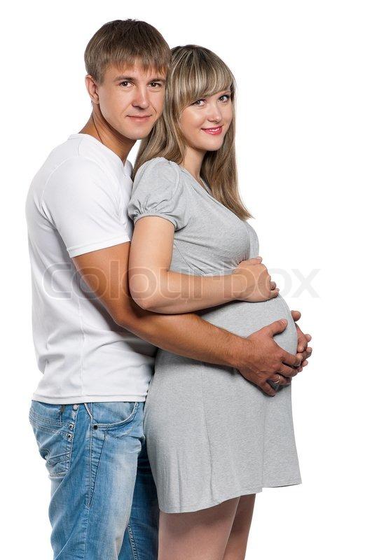 Woman Pregnant Husband