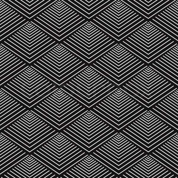 Modern Geometric Seamless Pattern