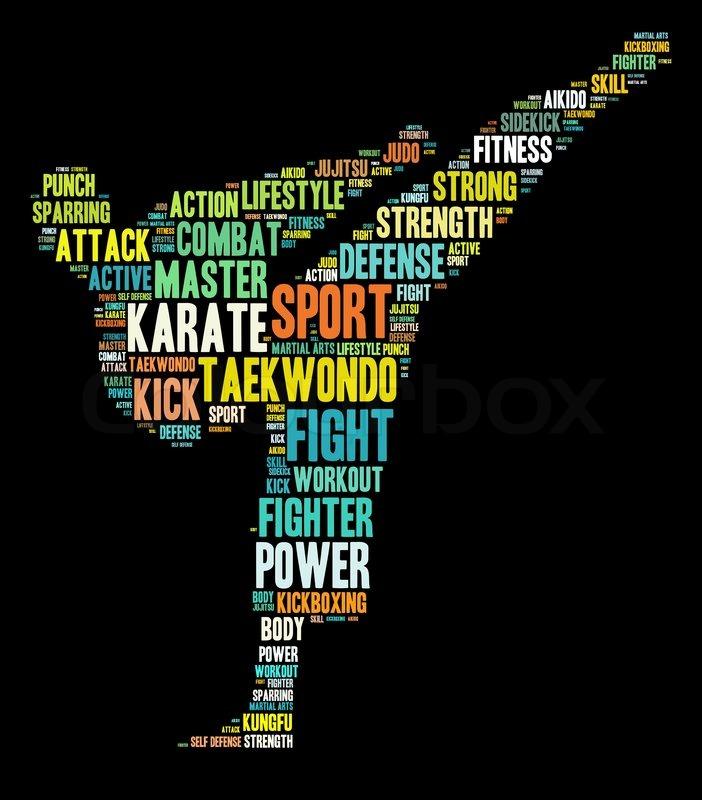 martial arts info text