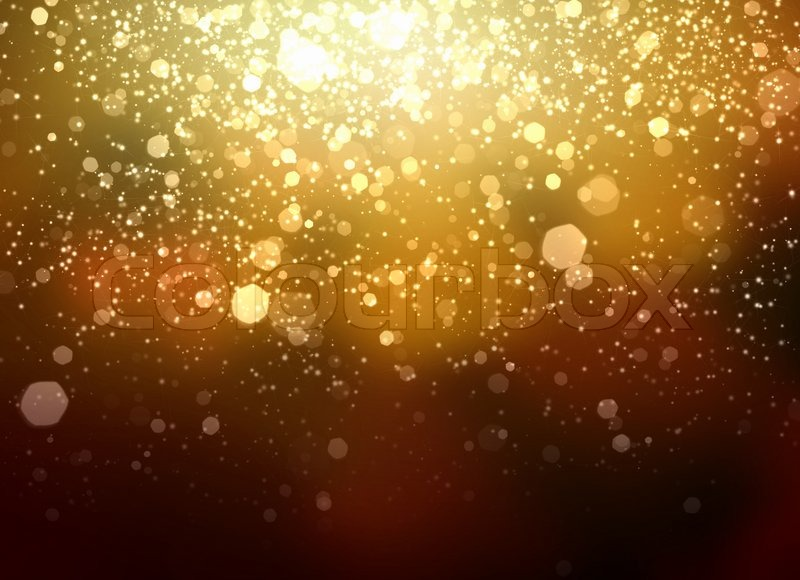 Gold abstract light background  Stock image  Colourbox