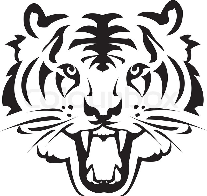 Royalty Free Bengal Tiger Clip Art Vector Images
