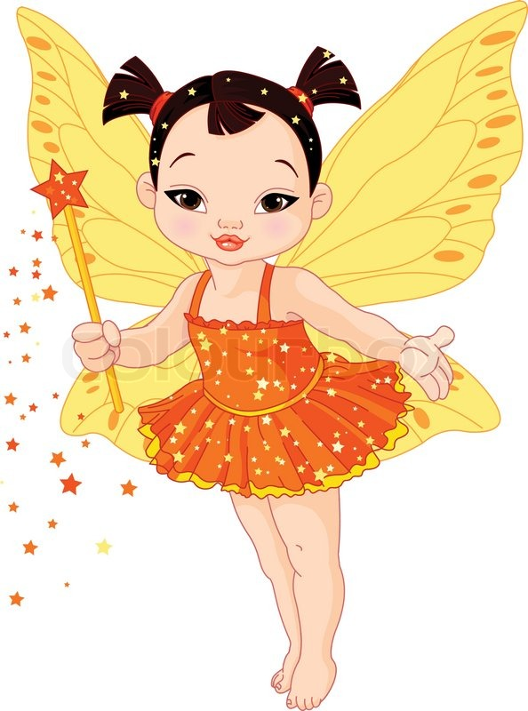 Clip Baby Cute Art Girl