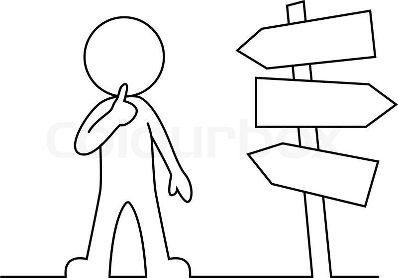 Vector illustration of People is standing in front of a