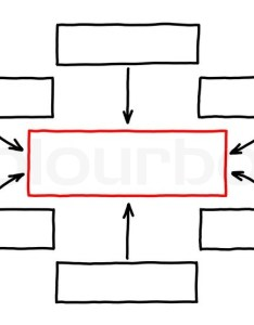 also empty flow chart with red marker on white stock photo colourbox rh