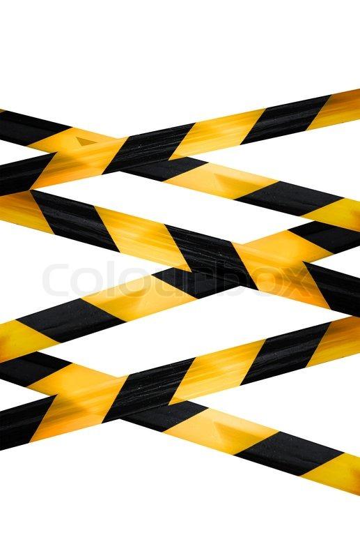 Caution Police Tape