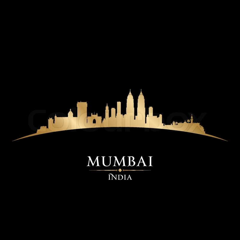 Bangalore Hd Wallpaper Mumbai India City Skyline Silhouette Vector Illustration
