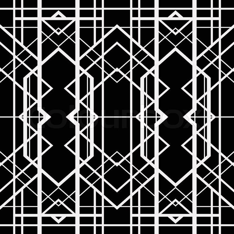 And Art Art Black S Deco White 1920