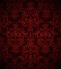 Seamless dark red vintage vector wallpaper pattern ...