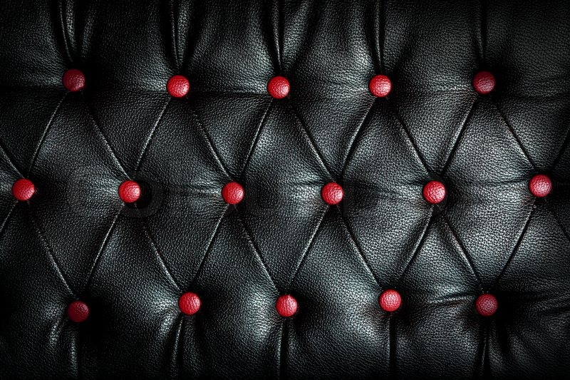 abstract black leather against