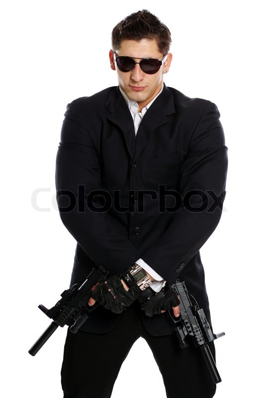 Weapon Secret Service Agent