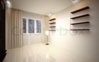 Interior Design. Modern empty living room | Stock Photo ...