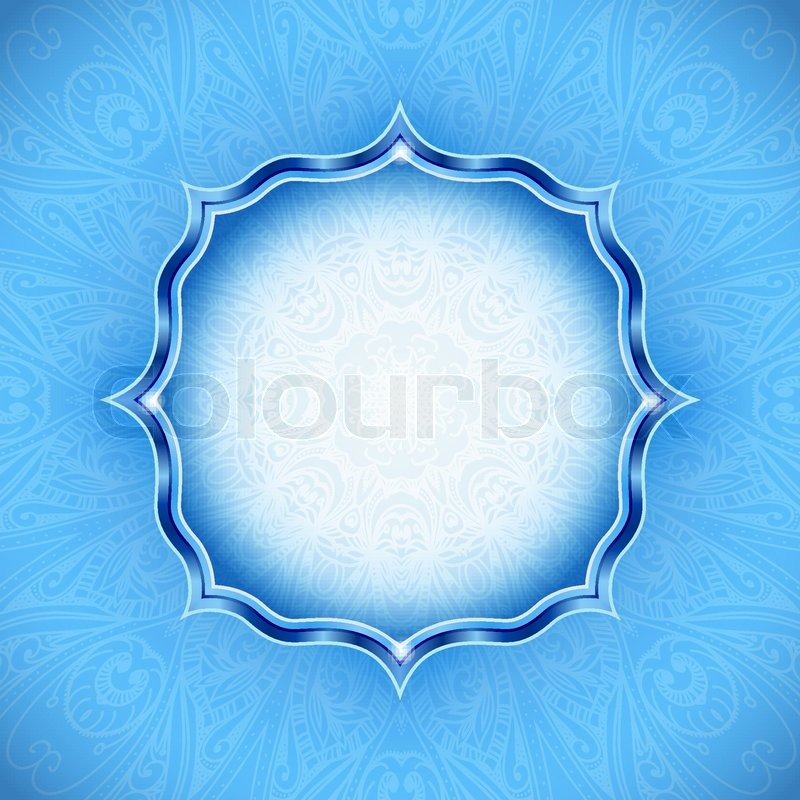abstract winter background ornamental