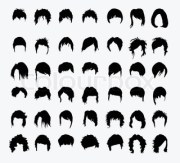 cartoon girls with hairstyles
