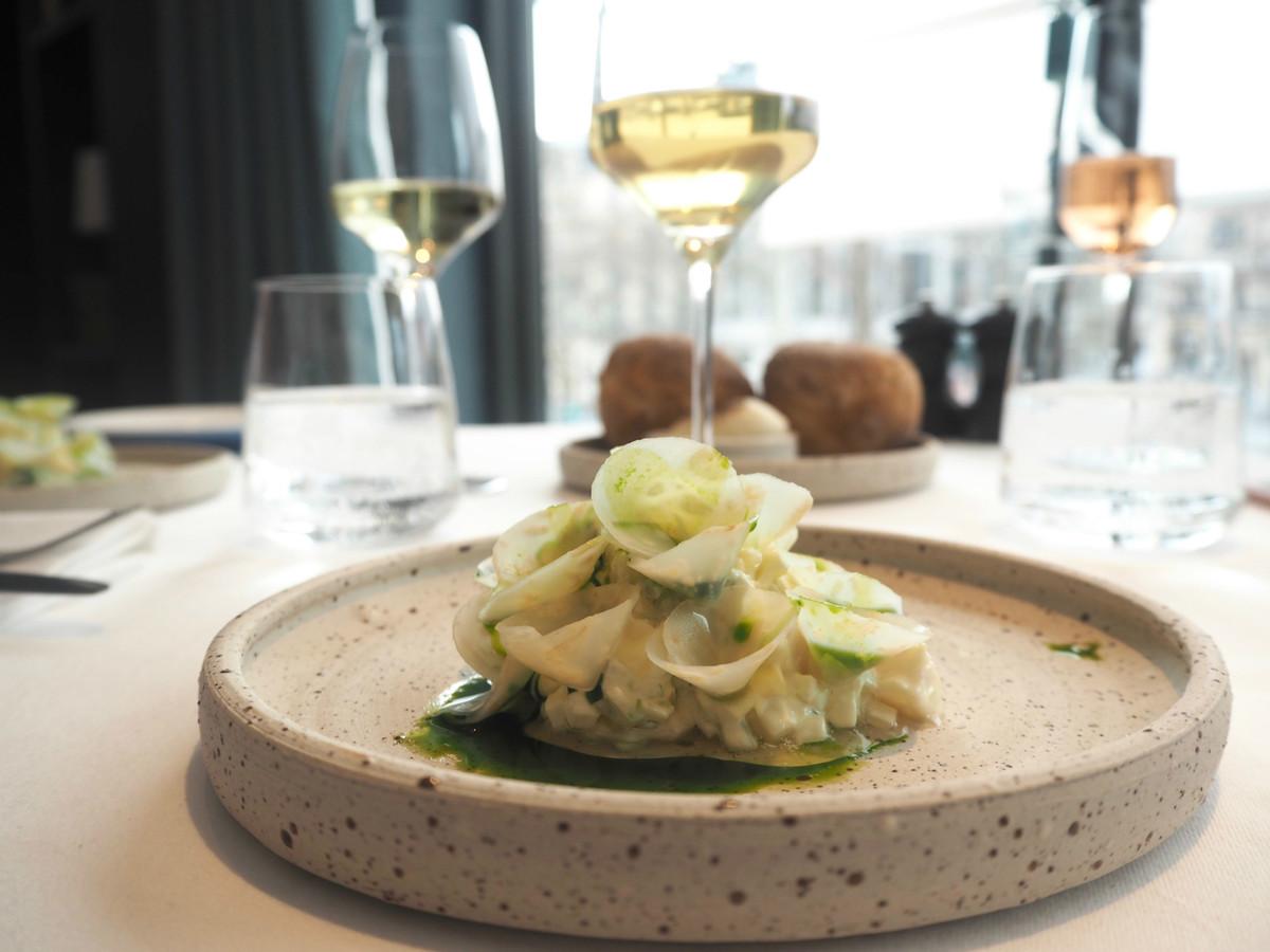 Fabulous Restaurant Copenhague Avenue Des Paris Menu