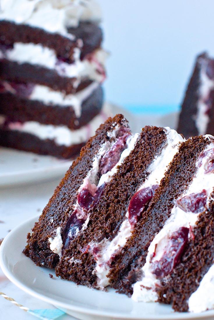 Black Forest Cake Recipe King Arthur Flour