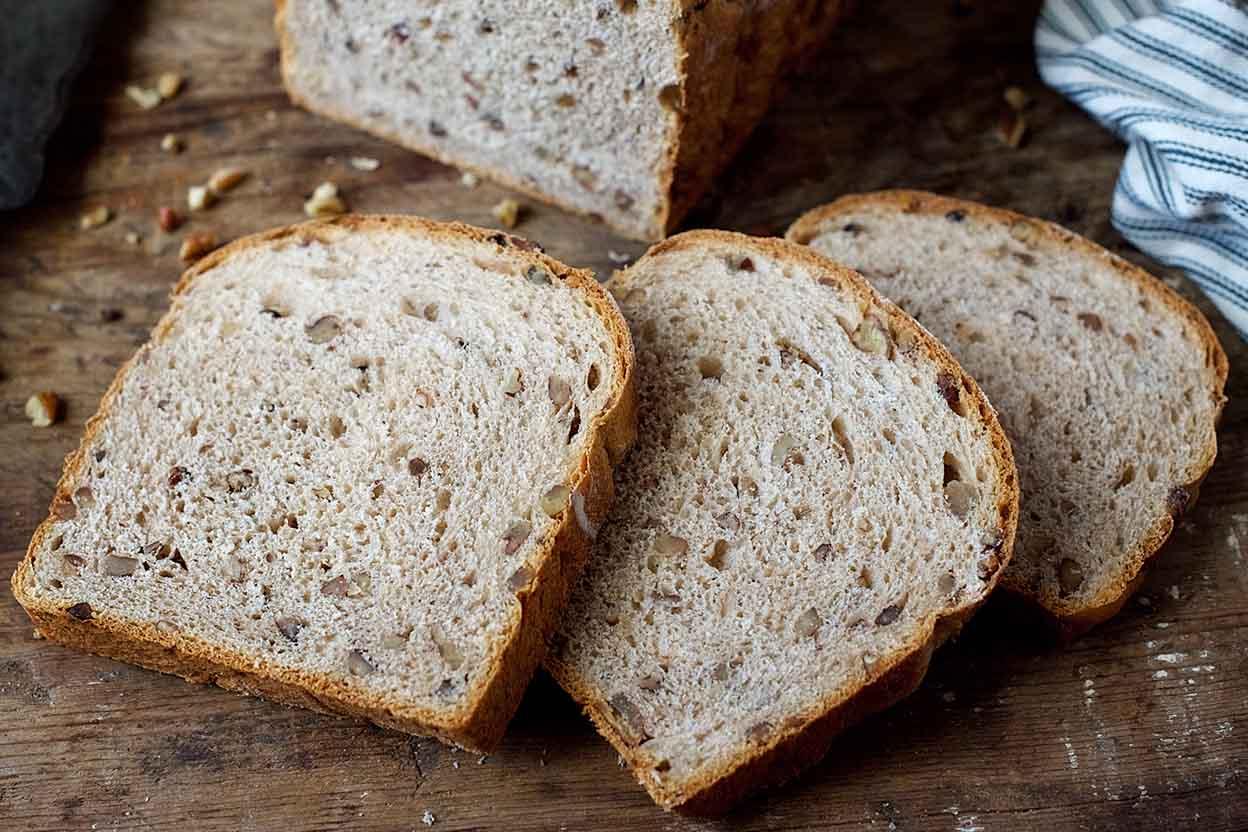 Pecan Wheat Bread Recipe King Arthur Flour