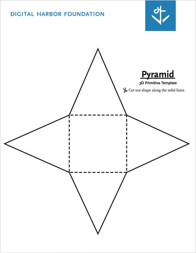 Pyramid Primitive Template- Free PDF Download by DHF
