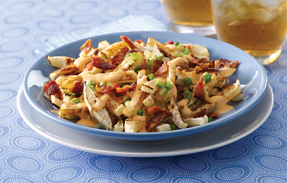healthy bacon cheese fries