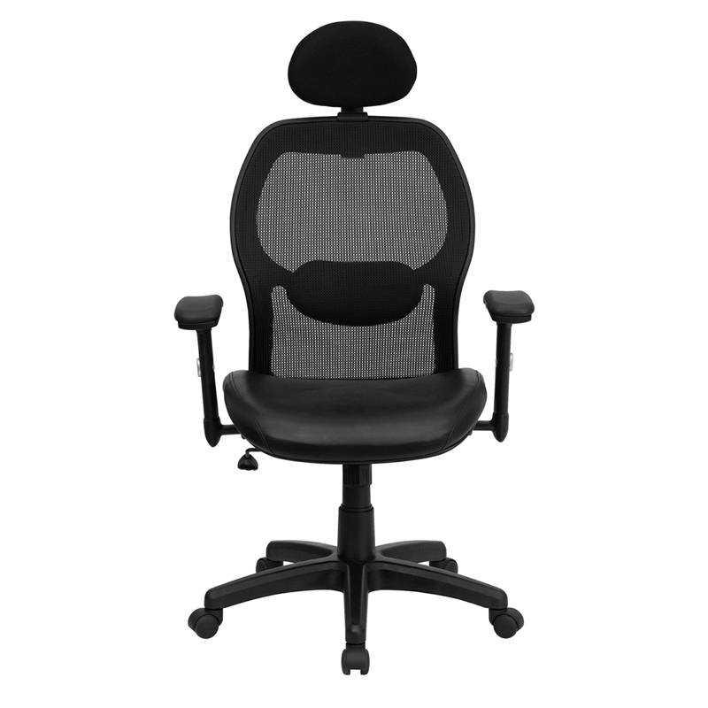office chair high seat 48 back outdoor cushions flash furniture super mesh with black italian fla lf w42b l hr gg 01