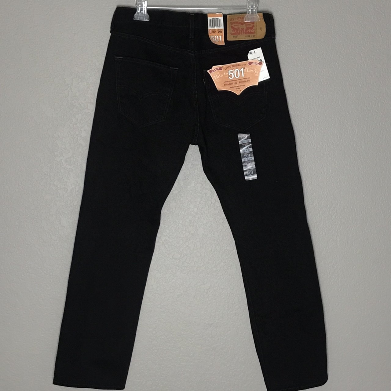 5f594be2 501 Jeans Black | Levi Strauss 550 Black Relaxed Fit Jeans