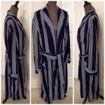 Vintage Rabhor Robes Men S Smoking Jacket Style Depop