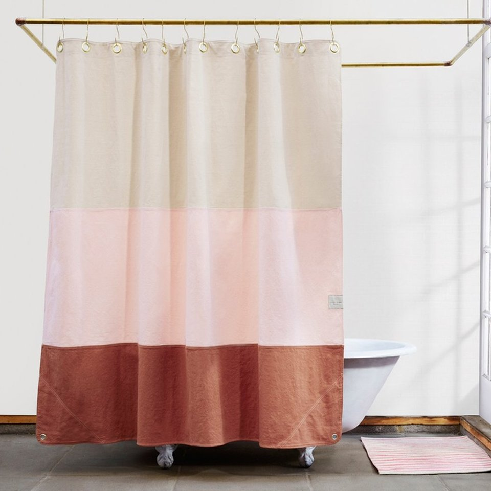 lido shower curtain from quiet town regularly