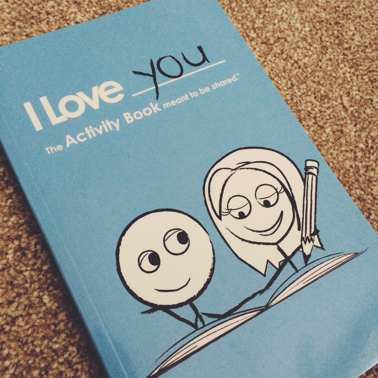couples activity book never